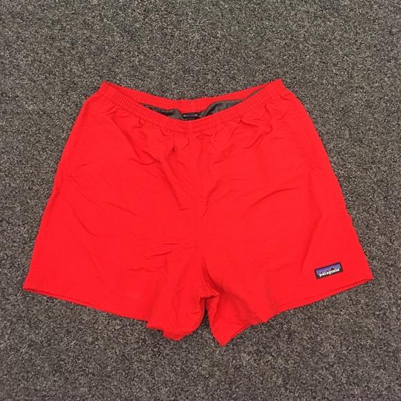 11c3060d618f5e Patagonia Swim   5 Inch Baggies Shorts Medium Fire Color   Poshmark